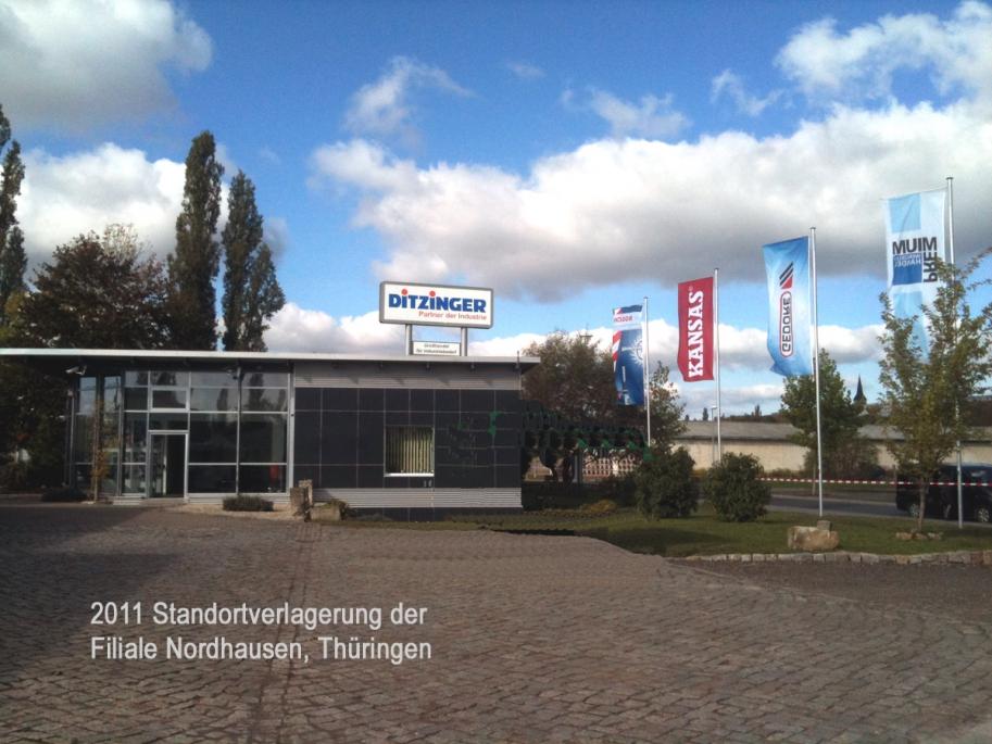 Filiale Nordhausen in 2011