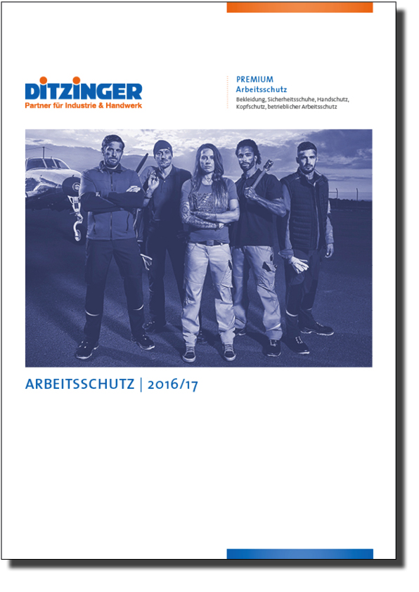 Ditzinger Sortiment Arbeitsschutz Katalog