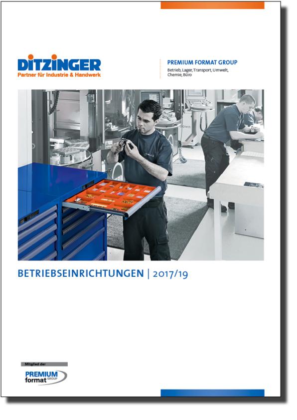 Ditzinger Sortiment Betriebseinrichtungen Katalog