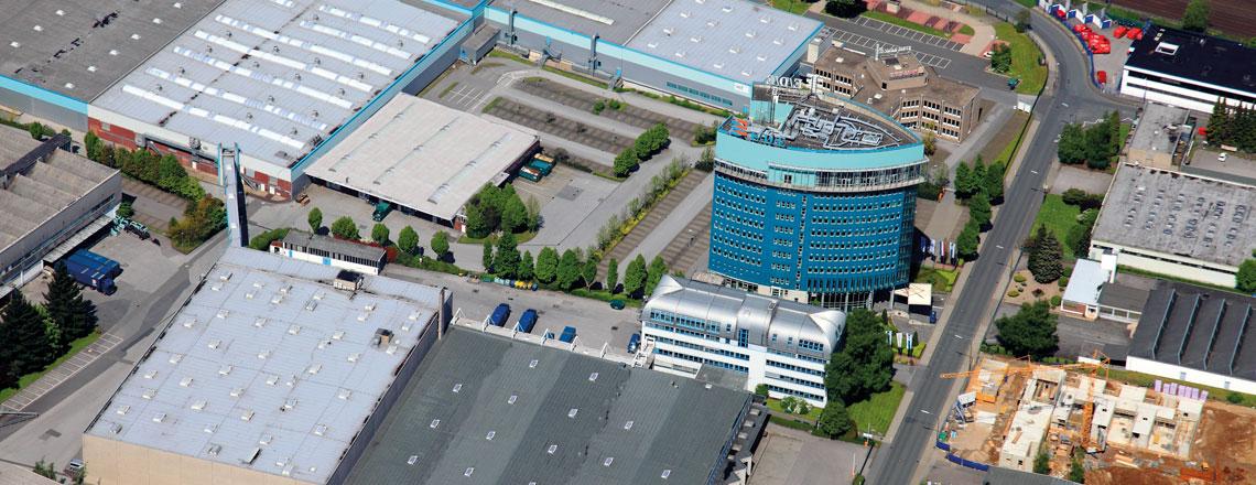 Die eLC Logistik der E/D/E in Wuppertal, von Ditzinger genutzt