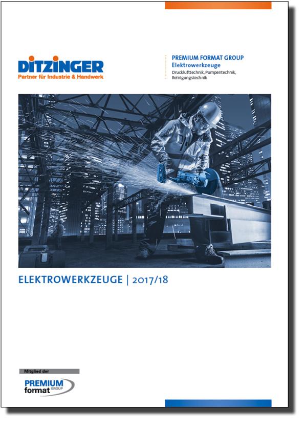 Ditzinger Sortimente Elektrowerkzeuge Katalog